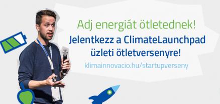 Adj energiát ötletednek! ClimateLaunchpad 2016
