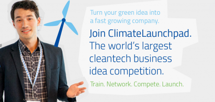 Give energy to your idea! ClimateLaunchpad 2016