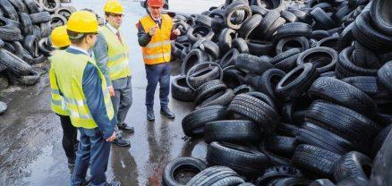 Egy magyar cég találmányának köszönhetően ma már újrahasznosíthatók az autógumik